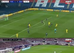 Enlace a La posición de Messi en sus últimos 3 goles. ¿Se volvió un especialista?