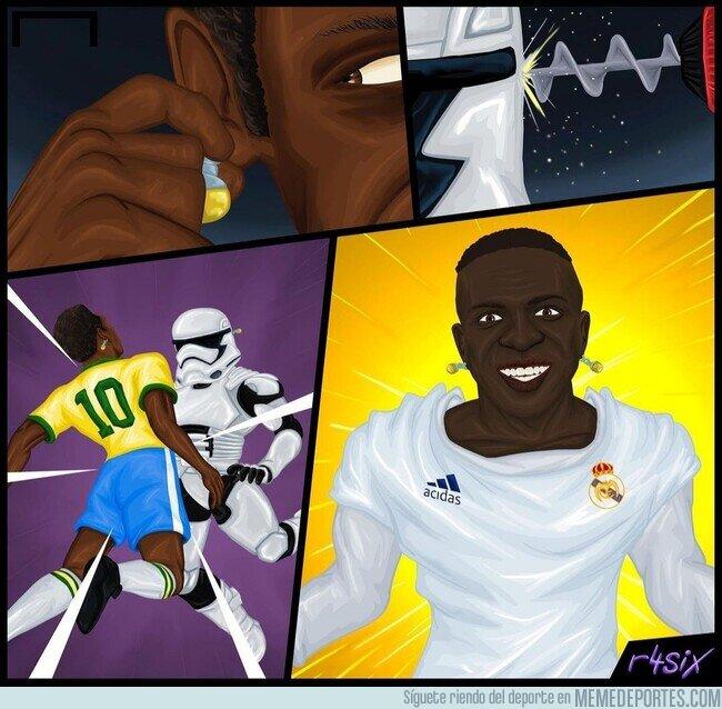 1130432 - Si Pelé y un Stormtrooper se fusionaran... Por @r4six