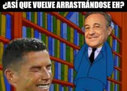 Enlace a Cristiano quiere regresar al Madrid