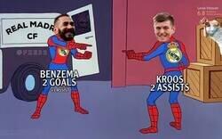 Enlace a Masterclass de Kroos y Benzema