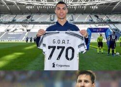 Enlace a Messi se dio por aludido