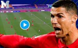 Enlace a El robo increíble que le hicieron a Cristiano anulándole este gol en el último minuto que daba la victoria a Portugal