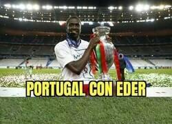 Enlace a Portugal echa de menos a su verdadero héroe