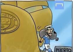 Enlace a El Kun, listo para desembarcar donde vaya Messi