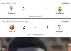 Enlace a ¿Cómo que al Barça B le fue mejor contra el Alcoyano que al Real Madrid?