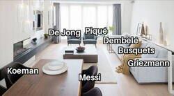 Enlace a La alineación del Barça para el partido de Champions de hoy