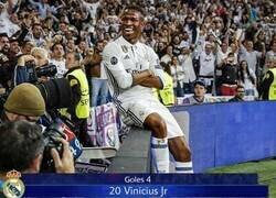 Enlace a Vinicius súper estrella frente al Liverpool