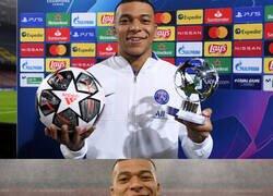 Enlace a Menuda Champions lleva Mbappé
