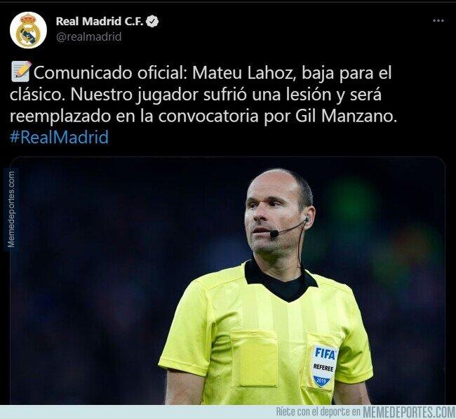 1132069 - No para esa plaga de lesiones en Madrid