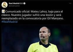 Enlace a No para esa plaga de lesiones en Madrid
