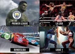 Enlace a Resumen de las ligas top 5