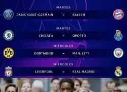 Enlace a ¡Samana de definición de Champions League!