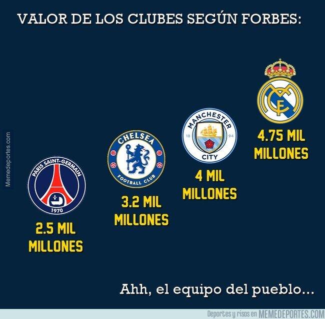 1132783 - Real Madrid es literalmente el club más rico de los 4 clasificados. Y te están vendiendo justo lo contrario...