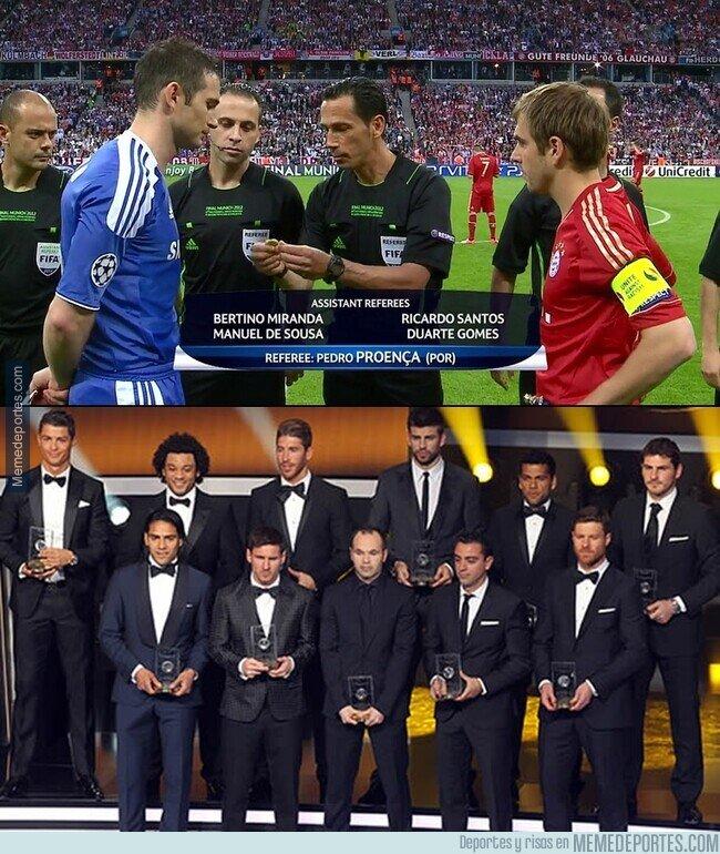 1132809 - El 2012 fue la prueba de que estar en el mejor equipo no te hace el mejor jugador