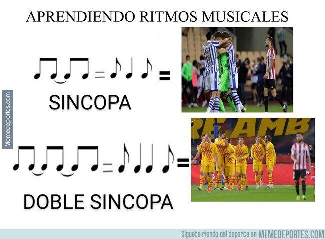 1132956 - Lo del Athletic en Copa sirve para los músicos