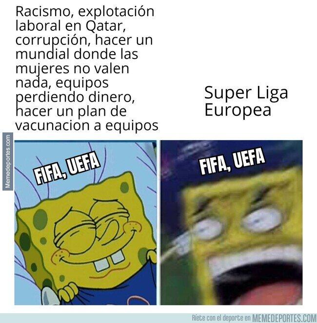 1133149 - La hipocresía de FIFA y UEFA