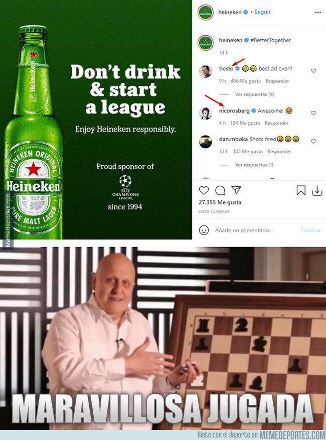 1133362 - El anuncio de Heineken aprovechando el revuelo de la SuperLiga