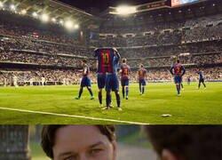Enlace a Se cumplen 4 años de la mítica celebración de Messi en el Bernabéu