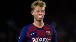 Enlace a De Jong contra el Villarreal