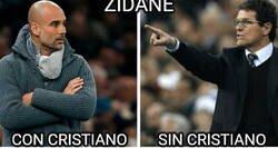 Enlace a Zidane parece dos entrenadores diferentes