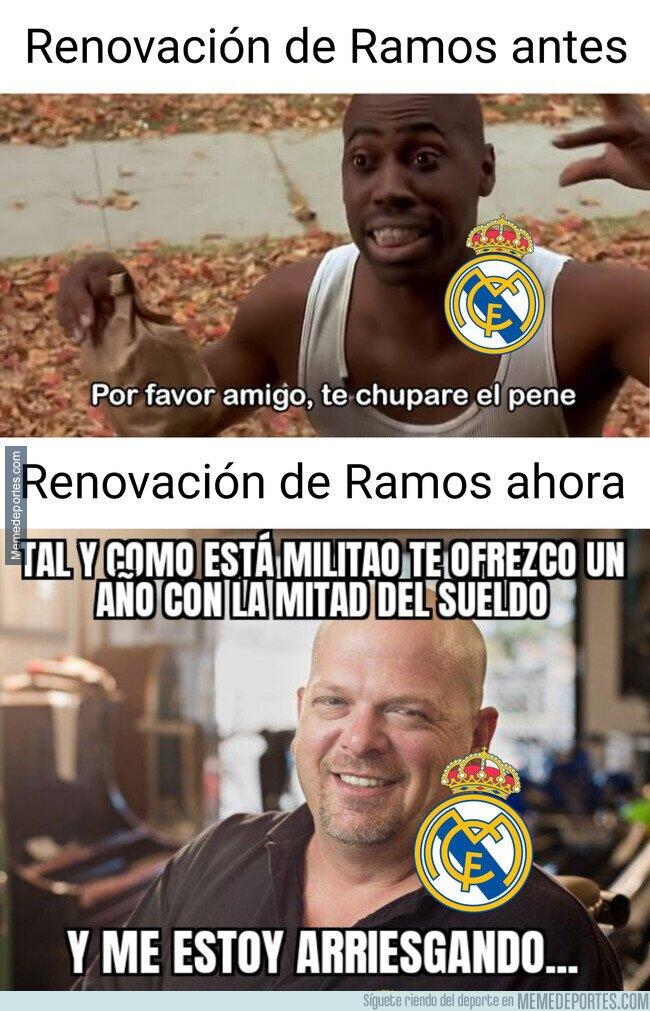 1134116 - Militao hace olvidar a Ramos