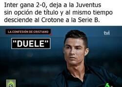 Enlace a El Inter desquicia por completo a Cristiano