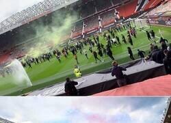 Enlace a Las mejores imágenes de la invasión al Old Trafford