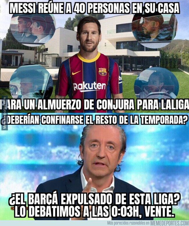 1134249 - El almuerzo de Messi