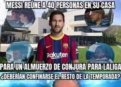 Enlace a El almuerzo de Messi