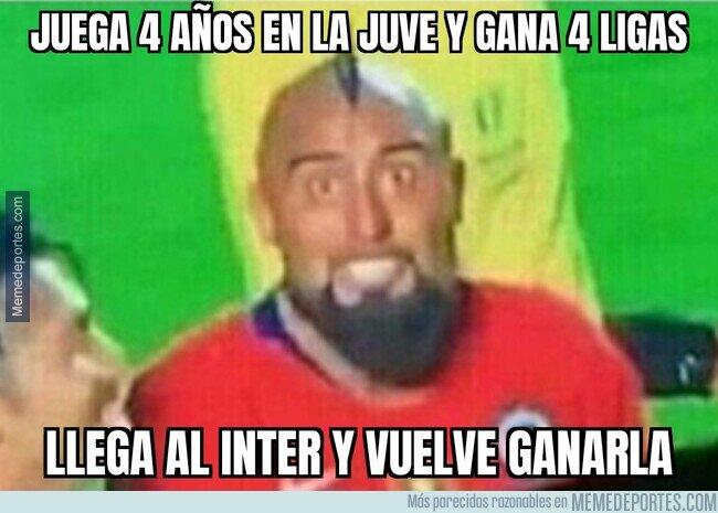 1134251 - Arturo Vidal ha ganado todas las Series A que ha jugado