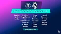 Enlace a Convocatoria del Real Madrid para jugar en Londres