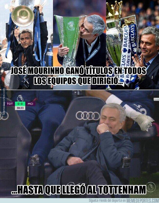 1134274 - Mourinho rompe una de las rachas que más le orgullecía tener