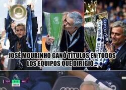 Enlace a Mourinho rompe una de las rachas que más le orgullecía tener