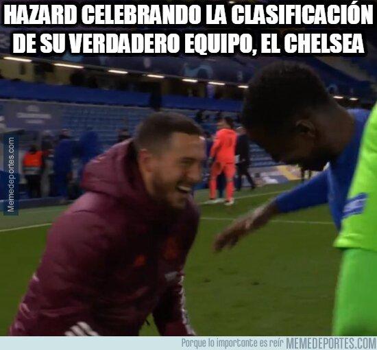 1134386 - Hazard y el Chelsea están felices
