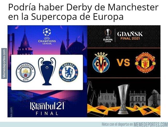 1134601 - O ya lo gafé y la Supercopa seria Chelsea - Villarreal