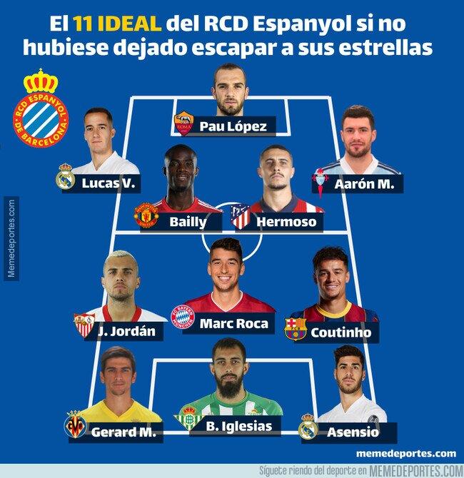 1134829 - Este es el equipazo que tendría el RCD Espanyol si no hubiera dejado escapar a sus estrellas