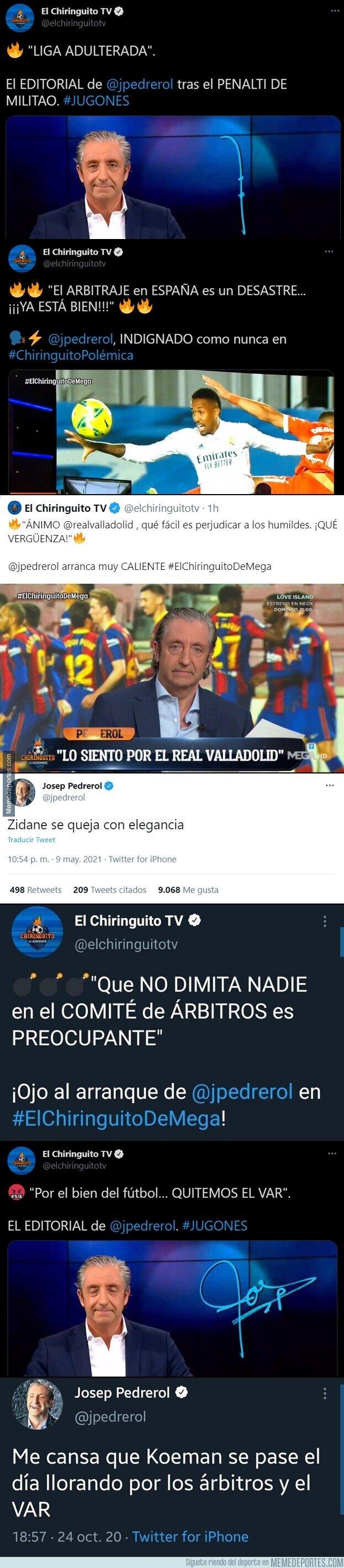 1134860 - El mayor referente del periodismo deportivo en España es este sujeto. Te da que pensar...