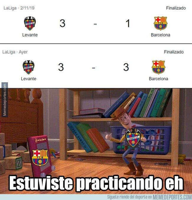 1134947 - La anterior visita del Barça al Ciutat de Valencia fue peor...