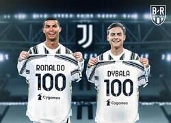 Enlace a Los dos llegaron a 100 goles pero?