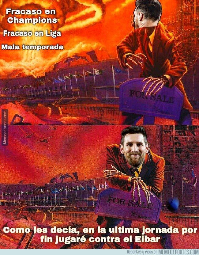 1135113 - Que sería de Messi sin el Eibar