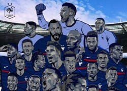 Enlace a La increíble selección que Francia presentará en la EURO