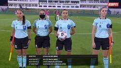 Enlace a Damas y caballeros, con ustedes, la primera terna arbitral completamente femenina en la historia de la Copa Libertadores