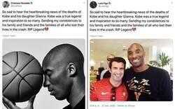 Enlace a Como olvidar cuando Figo y Cristiano escribieron el mismo mensaje de pésame sobre Kobe...