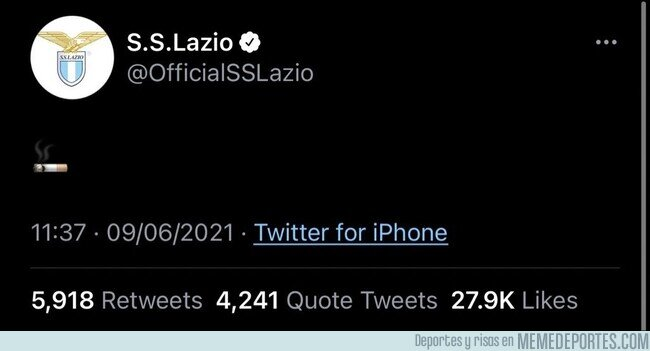 1137132 - Así es como la Lazio hace oficial el fichaje de Sarri