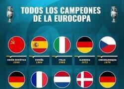 Enlace a Todos los campeones de la Eurocopa