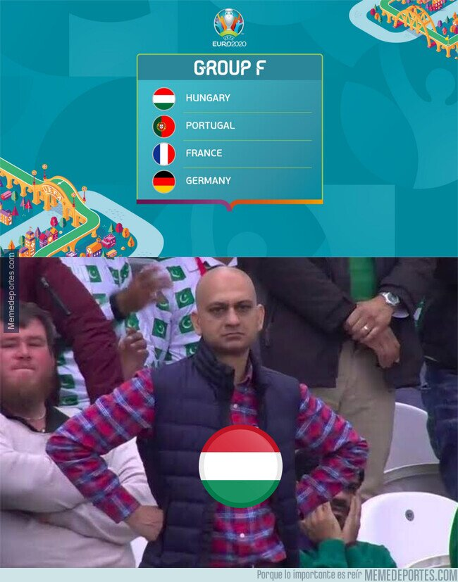 1137339 - Hungría en su grupo de la Eurocopa