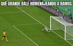 Enlace a Bale sí que sabe como despedir a su capitán