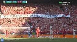 Enlace a El Dinamarca-Bélgica se detiene al minuto 10' como muestra de respeto a Eriksen