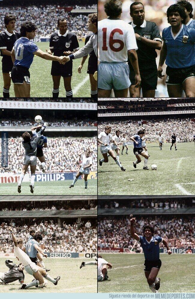 1137992 - Hoy hace 35 años se jugó un partido de fútbol que quedó para la historia