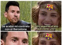 Enlace a Messi siembra dudas